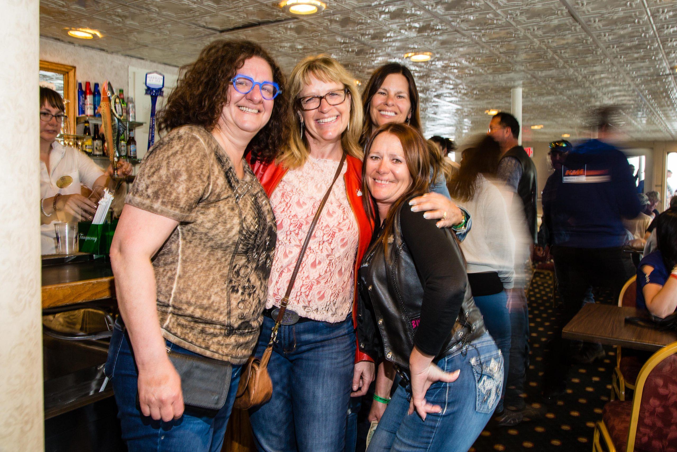Women smiling at Americade