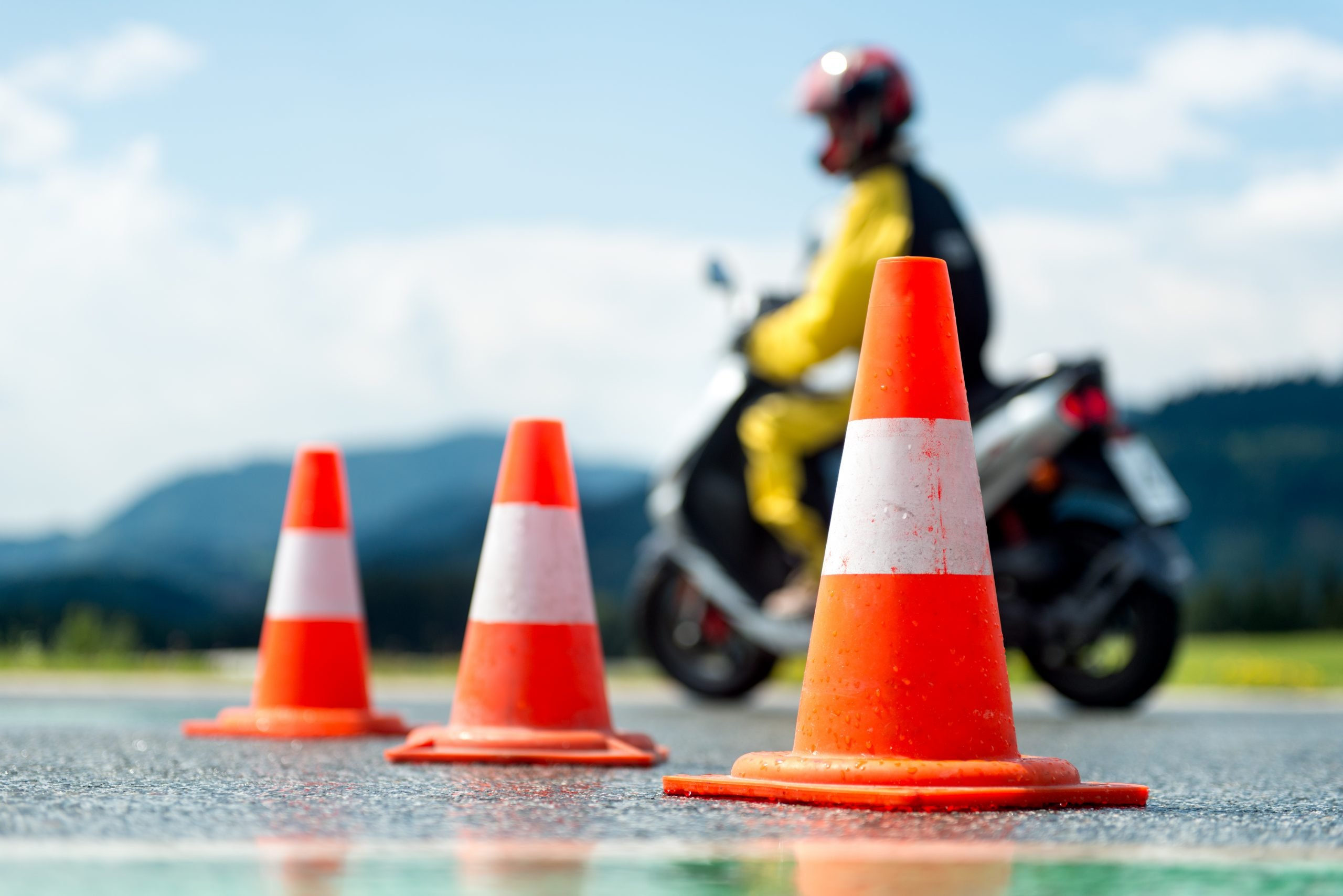 Rider training course